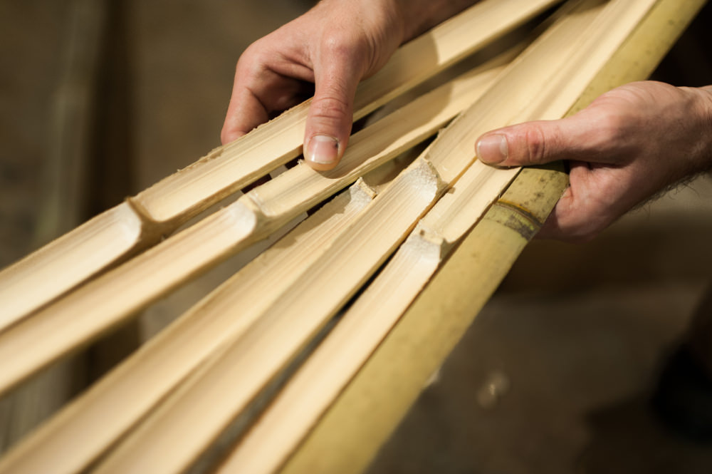 Déambulons, atelier de création de bambou